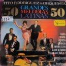 Discos de vinilo: LP - TITO RODRIGUEZ - 50 GRANDES MELODIAS LATINAS (SPAIN, UA RECORDS 1964). Lote 168210516