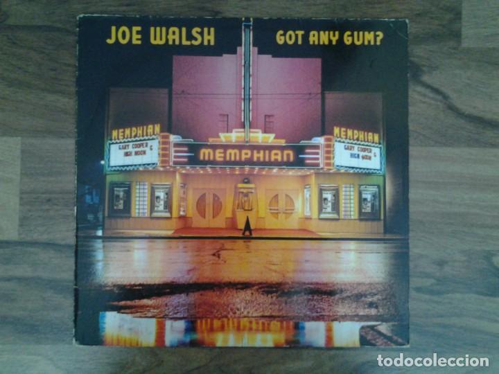 JOE WALSH -GOT ANY GUM- LP WARNER RECORDS 1987 ED. ALEMANA 925 606 BUENAS CONDICIONES. (Música - Discos de Vinilo - EPs - Jazz, Jazz-Rock, Blues y R&B)