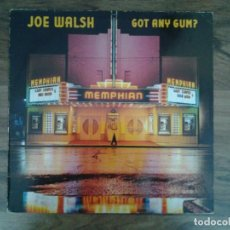 Discos de vinilo: JOE WALSH -GOT ANY GUM- LP WARNER RECORDS 1987 ED. ALEMANA 925 606 BUENAS CONDICIONES. . Lote 168211148