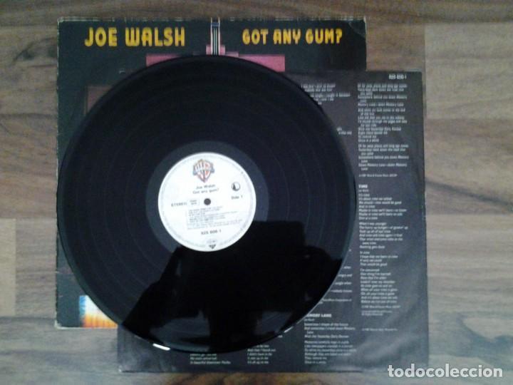 Discos de vinilo: JOE WALSH -GOT ANY GUM- LP WARNER RECORDS 1987 ED. ALEMANA 925 606 BUENAS CONDICIONES. - Foto 3 - 168211148