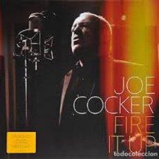 Discos de vinilo: LP JOE COCKER – FIRE IT UP +CD. Lote 168213392