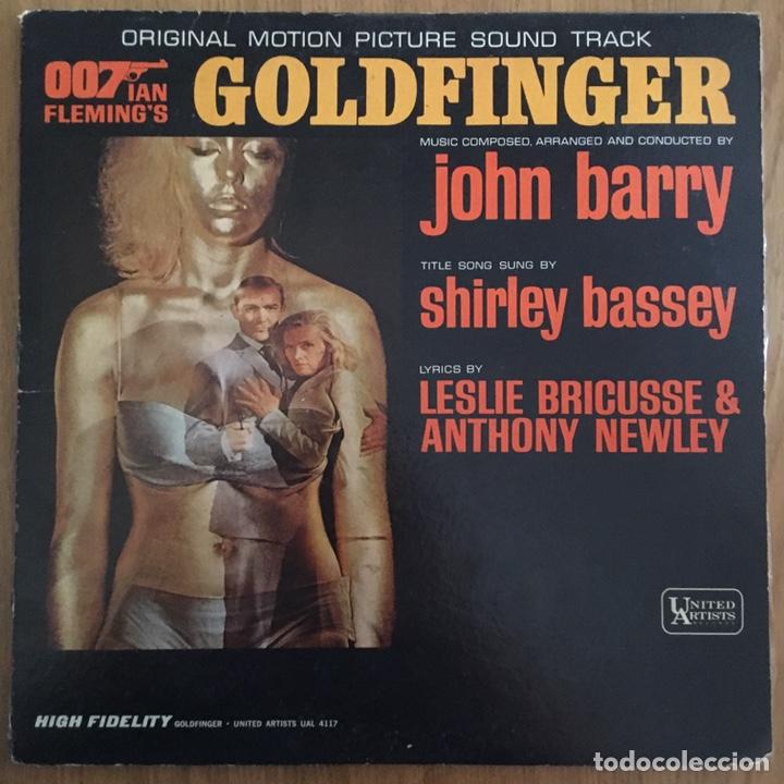 007 GOLDFINGER LP BANDA SONORA ORIGINAL AMERICANA (Música - Discos - LP Vinilo - Bandas Sonoras y Música de Actores )