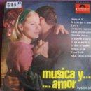 Discos de vinilo: LP - VINCENT MOROCCO Y SU ORQUESTA - MUSICA Y AMOR (SPAIN, POLYDOR 1965). Lote 168214408