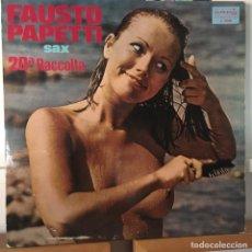 Discos de vinilo: FAUSTO PAPETTI 20ª RACOLTA LP EDIC ESPAÑA EXC. Lote 168214648