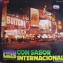 Discos de vinilo: LP - MANOLO GAS AND THE TINTO BAND BANG - CON SABOR INTERNACIONAL (SPAIN, POLYDOR 1977). Lote 168215372
