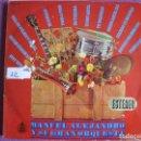 Discos de vinilo: LP - MANUEL ALEJANDRO Y SU GRAN ORQUESTA - SAME (SPAIN, HISPAVOX 1966). Lote 168215684