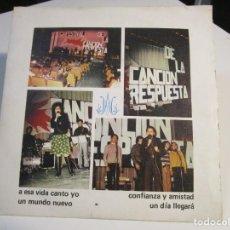 Disques de vinyle: 2º FESTIVAL DE LA CANCION RESPUESTA (EP.1975) COLEGIO MARISTAS CATALUNYA -EDITA:EQUIPO PASTORAL. Lote 168220712
