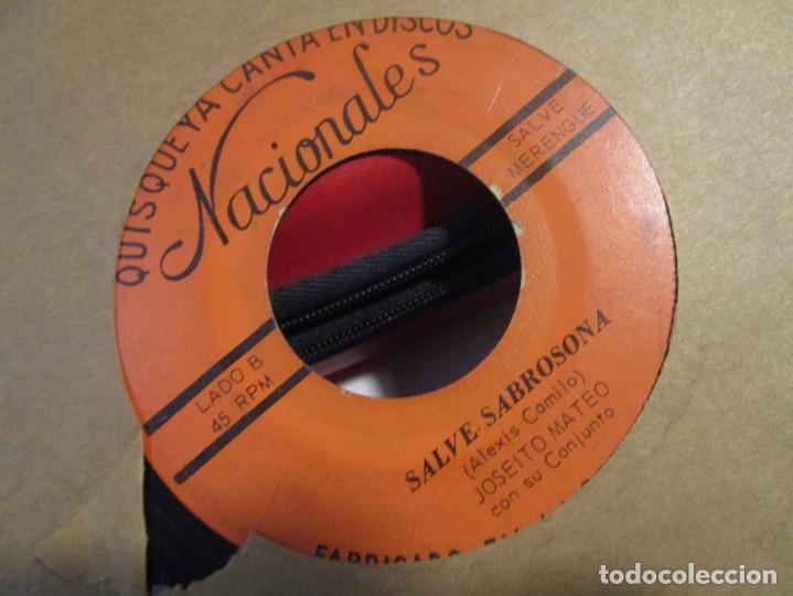 JOSEITO MATEO ASI ES LA VIDA + SALVE LA SABROSONA (Música - Discos - Singles Vinilo - Grupos y Solistas de latinoamérica)