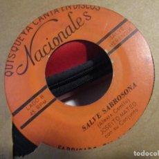 Discos de vinilo: JOSEITO MATEO ASI ES LA VIDA + SALVE LA SABROSONA. Lote 195289302