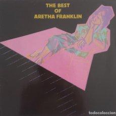 Discos de vinilo: THE BEST OF ARETHA FRANKLIN. Lote 168225192