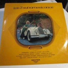 Discos de vinilo: LOS 3 SUDAMERICANOS BELTER AÑOS 60 LP. Lote 168230204