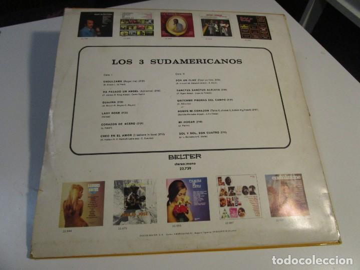 Discos de vinilo: LOS 3 SUDAMERICANOS BELTER AÑOS 60 LP - Foto 2 - 168230204