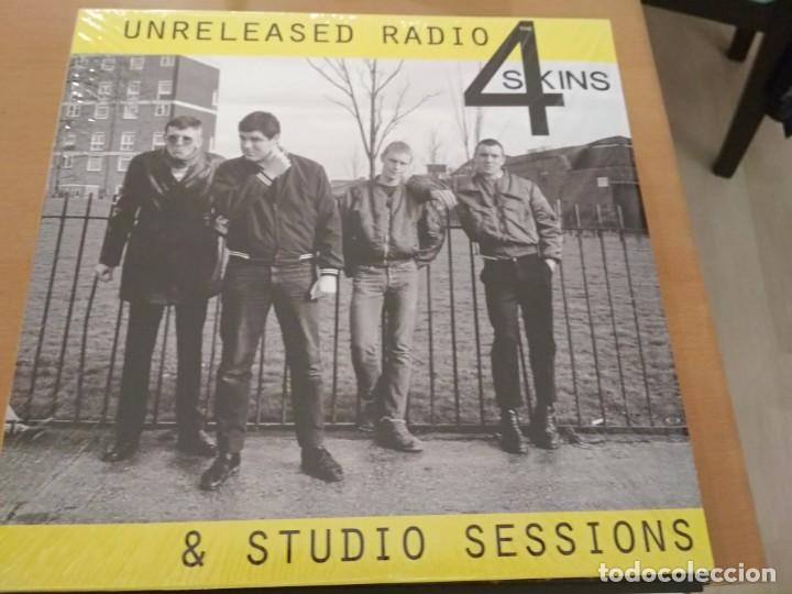 THE 4 SKINS UNRELEASED RADIO & STUDIO SESSIONS LP ¡¡NUEVO¡¡ (Música - Discos - LP Vinilo - Punk - Hard Core)