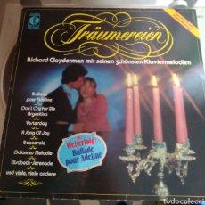 Discos de vinilo: RICHARD CLAYDERMAN - TRÄUMEREIEN. Lote 168230498