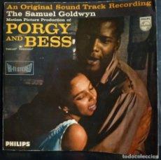 Discos de vinilo: PORGY AND BESS // BSO // LIBRETO //PORTADA DOBLE // MADE IN HOLLAND // (VG+ VG+).LP. Lote 168235044