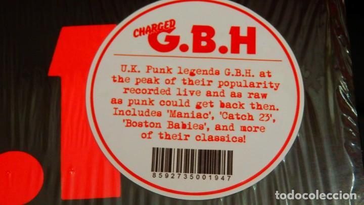 Discos de vinilo: Charged G.B.H * Live at the Ace Brixton 1983 * Precintado - Foto 2 - 168238404