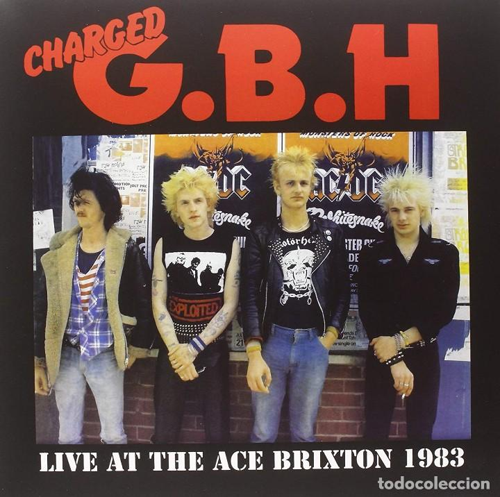 Discos de vinilo: Charged G.B.H * Live at the Ace Brixton 1983 * Precintado - Foto 3 - 168238404