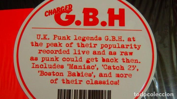 Discos de vinilo: Charged G.B.H * Live at the Ace Brixton 1983 * Precintado - Foto 4 - 168238404