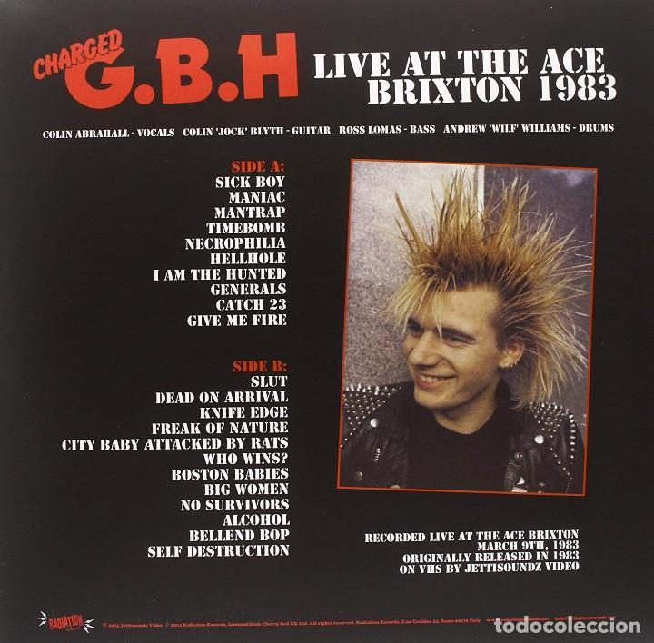 Discos de vinilo: Charged G.B.H * Live at the Ace Brixton 1983 * Precintado - Foto 5 - 168238404