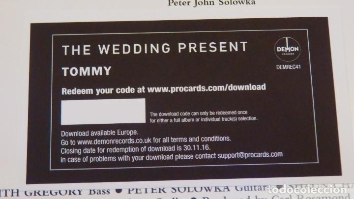 Discos de vinilo: The Wedding Present * LP 180g Limited Edition + cupón descarga * Tommy * Nuevo - Foto 8 - 178212728