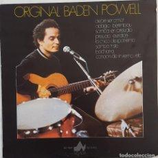 Discos de vinilo: ORIGINAL BADEN POWELL. LA CHICA DE IPANEMA Y OTROS TEMAS. Lote 168238532