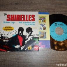 Discos de vinilo: THE SHIRELLES - SOLDIER BOY. Lote 168265348