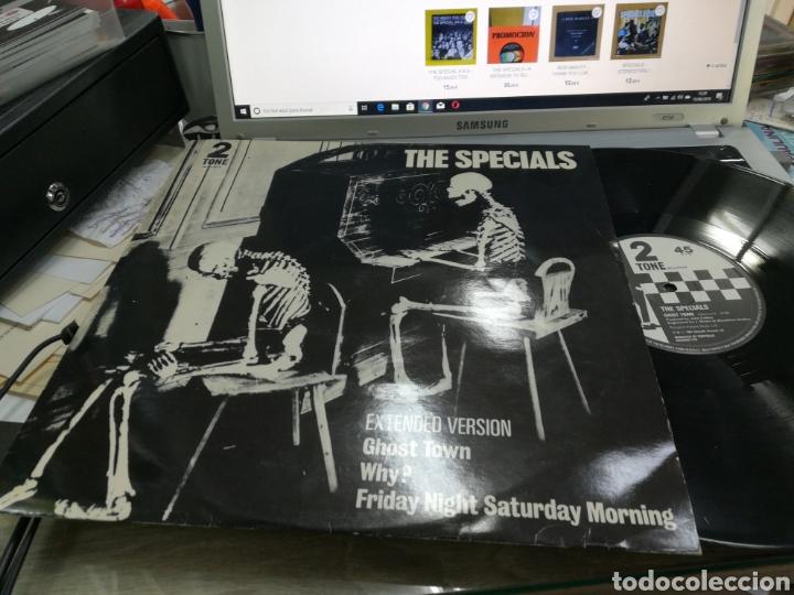 THE SPECIALS MAXI GHOST TOWN 1981 (Música - Discos de Vinilo - Maxi Singles - Reggae - Ska)