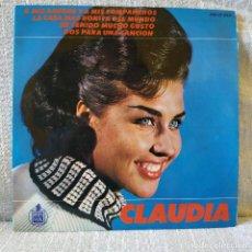 Discos de vinilo: CLAUDIA - LA CASA MAS BONITA DEL MUNDO + 3 - EP SPAIN HISPAVOX AÑO 1965 EN ESTADO NUEVO, SIN USO. Lote 168267844