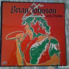 Discos de vinilo: BRIAN JOHNSON AND GEORDIE LP RED BUS 1981 ED. ESPAÑOLA 17.2640/6 EN MUY BUENAS CONDICIONES.. Lote 168272624