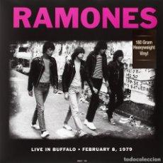 Discos de vinilo: RAMONES * LP 180G.HQ HEAVYWEIGHT VINYL * LIVE IN BUFFALO 08/02/1979 * PRECINTADO!!. Lote 168274324