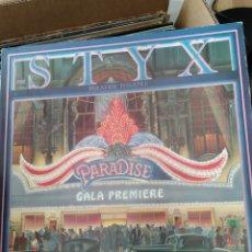 Discos de vinilo: STYX - PARADISE THEATRE (A&M RECORDS - AMLK 63719, UK, 1981). Lote 168275564