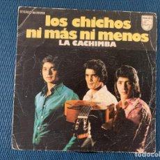 Discos de vinilo: LOS CHICHOS ?– NI MÁS NI MENOS SELLO: PHILIPS ?– 60 29 208 FORMATO: VINYL, 7 , 45 RPM, SINGLE . Lote 168279364
