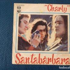Discos de vinilo: SANTABÁRBARA* ?– CHARLY SELLO: HARVEST ?– 1 J 006-20.973 FORMATO: VINYL, 7 , 45 RPM, SINGLE . Lote 168279424