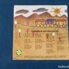 Discos de vinilo: CHUCU-CHUCU-CHU (CANCIÓN DE LOS DÍAS AZULES) SELLO: RENFE ?– R-117 FORMATO: VINYL, 7 . Lote 168279652