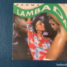Discos de vinilo: KAOMA ?– LAMBADA SELLO: CBS ?– CBS 655011 7 FORMATO: VINYL, 7 , SINGLE, 45 RPM PAÍS: FRANCE . Lote 168284536