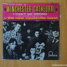 Discos de vinilo: THE NEW VAUDEVILLE BAND - WINCHESTER CATHEDRAL + 3 - EP. Lote 168284818