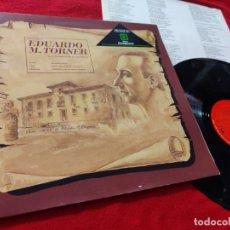 Discos de vinilo: ORQ.MADRID&CORO PRINCIPE ASTURIAS&JOAQUIN PIXAN HOMENAJE EDUARDO M.TORNER LP 1988 PROMO ZARAGOZANO. Lote 168284844