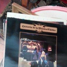 Discos de vinilo: HISTORIA DE LA MUSICA CLASICA, Nº 74: A. BERG, B. BRITTEN - DECCA (AÑO 1984). Lote 168285004