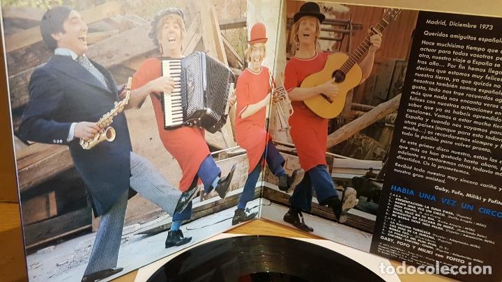 Discos de vinilo: HABÍA UNA VEZ UN CIRCO / LP GATEFOLD - MOVIE PLAY-1973 / MBC. ***/*** LIGERO USO. - Foto 2 - 168285148