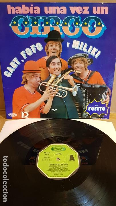 HABÍA UNA VEZ UN CIRCO / LP GATEFOLD - MOVIE PLAY-1973 / MBC. ***/*** LIGERO USO. (Música - Discos - LPs Vinilo - Música Infantil)