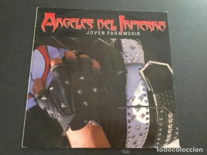 ÁNGELES DEL INFIERNO - JOVEN PARA MORIR (Música - Discos - LP Vinilo - Heavy - Metal)