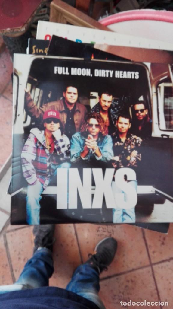 LP INXS-FULL MOON,DIRTY HEARTS (Música - Discos - LP Vinilo - Pop - Rock - New Wave Extranjero de los 80)