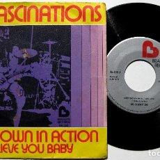 Discos de vinilo: THE FASCINATIONS - SHOT DOWN IN ACTION - SINGLE BRADLEY'S RECORDS 1975 BPY. Lote 168286628