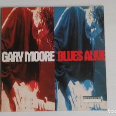 Discos de vinilo: GARY MOORE - BLUES ALIVE DOBLE LP 1993 EDICION INGLESA. Lote 168287308