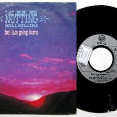 Discos de vinilo: THE NOTTING HILLBILLIES - FEEL LIKE GOING HOME - SINGLE VERTIGO 1990 BPY. Lote 168288732