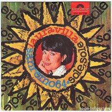 Discos de vinilo: LAURA VILLA, PETER KRAUS 2 TEMAS, QUARTETTTO CETRA. Lote 194298175