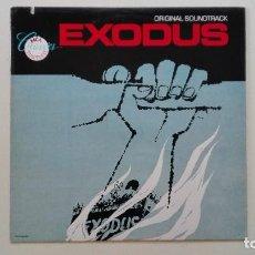 Discos de vinilo: EXODUS LP MCA RECORDS 1960 MCA39065 EDICIÓN MODERNA ERNEST GOLD USA. Lote 168293400