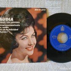 Discos de vinilo: CLAUDIA CON RAMON Y SUS SHOWMEN - ERES TÚ MI PENSAMIENTO + 3 - EP HISPAVOX DEL AÑO 1964 ESTADO NUEVO. Lote 168293900