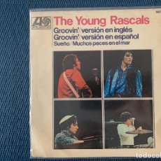 Discos de vinilo: THE YOUNG RASCALS ?– GROOVIN' SELLO: ATLANTIC ?– HAT 427-09, HISPAVOX ?– HAT 427-09 FORMATO: VINYL . Lote 168295976