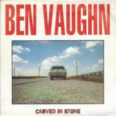 Discos de vinilo: BEN VAUGHN, CARVED IN STONE, DRO 1992 -PROMO-. Lote 168296436